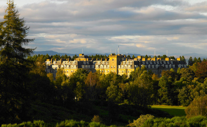 THE IVY & THE RYDER CUP- TOUCHES OF GLENEAGLES IN THE CITY